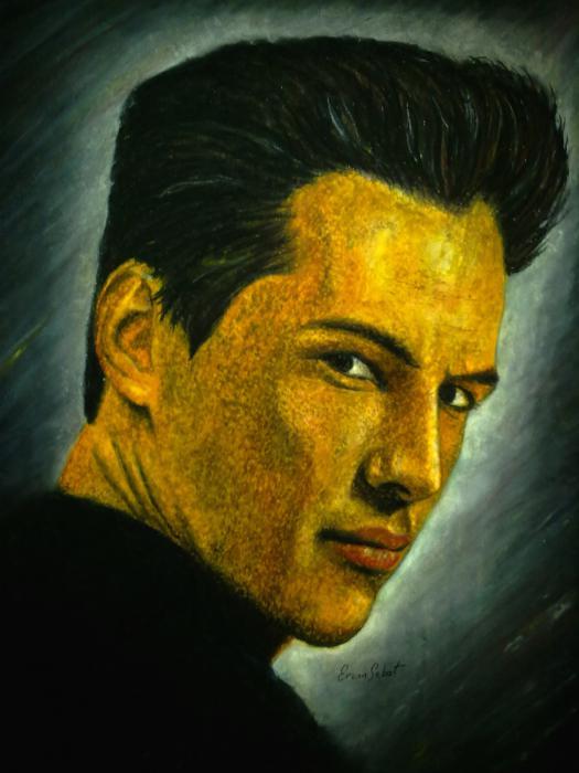 Keanu Reeves by ercansebat